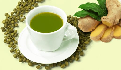 Зеленый кофе с имбирем в Минске